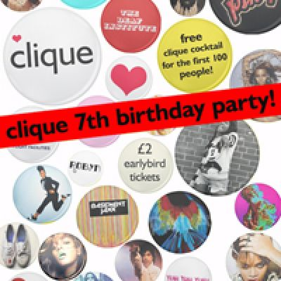 News: Club Clique 7th Birthday Party! Manchester xx | The Deaf Institute Manchester  | Fri 31st August 2012