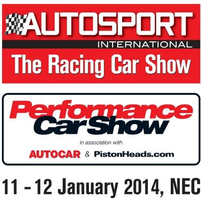 Autosport International 2014 | Birmingham NEC Birmingham  | Sun 12th January 2014 Lineup