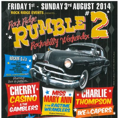 Rock Ridge Rumble #2 Tickets | Rock Ridge - Burdon Plain Off A6076 Between St  | Fri 1st August 2014 Lineup