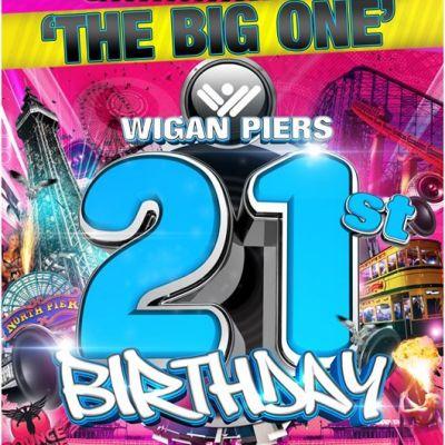 Wigan Pier Wigan Piers 21st Birthday
