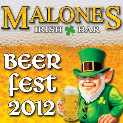 Malone's Beer Fest 2012 Tickets | Malones Irish Bar Edinburgh  | Thu 9th August 2012 Lineup