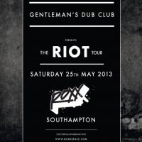 RoXX Presents... GENTLEMANS DUB CLUB (LIVE) - THE RIOT TOUR at RoXX