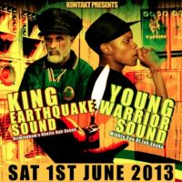 King Earthquake x Young Warrior at The Music  Cafe