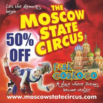 Moscow State Circus  | Star City Birmingham  | Fri 3rd January 2014 Lineup
