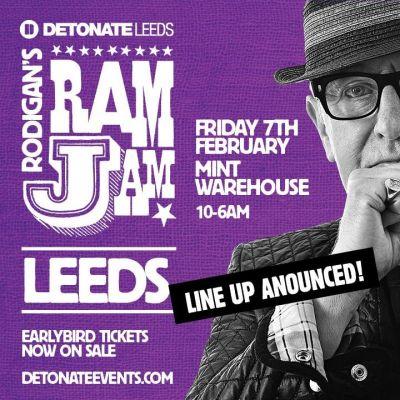 Detonate Leeds presents David Rodigan's RAMJAM Tickets | Mint Warehouse Leeds  | Fri 7th February 2014 Lineup