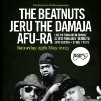 The Beatnuts, Jeru The Damaja & Afu Ra at The Garage - London