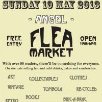 Angel Flea Market at Candid Arts Trust