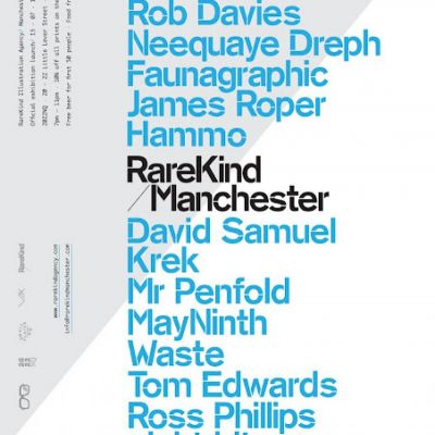 RareKind Manchester Exhibition Launch | 2022NQ Manchester  | Fri 13th July 2012 Lineup