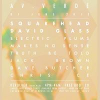 Av.Verde Terrace Party w/ SQUAREHEAD & David Glass at Revolver