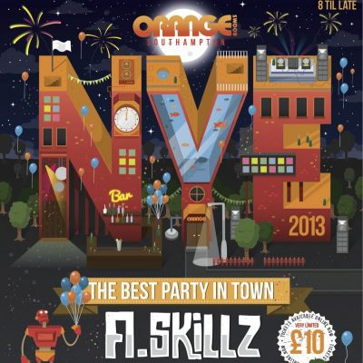 Orange Roms NYE w/ A.Skillz & more at Orange Rooms