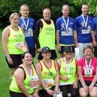 Edinburgh Marathon Festival of Running For Cystic Fibrosis at Outdoors For Edinburgh Marathon Festival