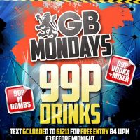 GB Mondays at Gatecrasher Birmingham