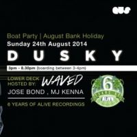 Dusky (3 Hour Set) Boat Party