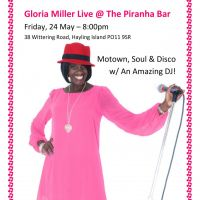 Dance Party with Gloria Miller ... Motown, Soul & Disco! at Piranha Bar And Restaurant