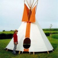 Tipi Hire at Off The Tracks Spring Festival / Fri 23rd May - Sun 25th May at Donington Park Farmhouse