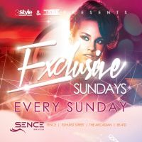 Exclusive Sundays - Quality Sunday Partying at Sence Bar And Club