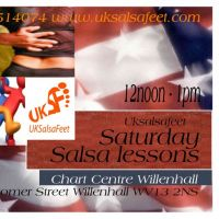 Saturday Salsa Session at Willenhall Chart Centre