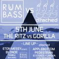 a D TACHED vs RUM &amp; BASS End of Exams Fiesta