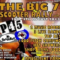The Big 7 Scooter Rally at The Hop Farm