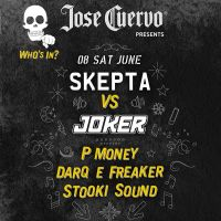 Jose Cuervo presents Skepta and Joker at Secret East London Warehouse