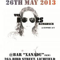 The Doors Experience Tour 2013 at Bar XANADU - Lichfield