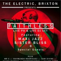 The Electric Brixton presents Faithless Live PA and DJ Set at Electric Brixton