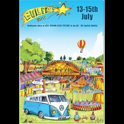 GuilFest 2012 | Stoke Park Guildford  | Sat 14th July 2012 Lineup