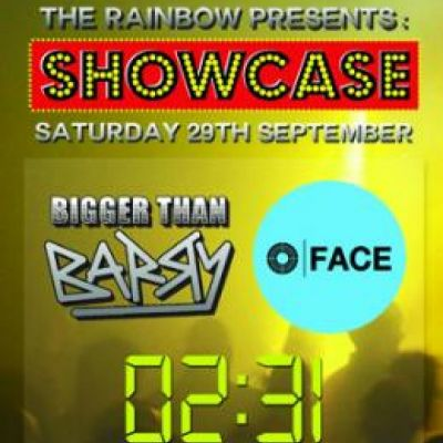 The Rainbow Presents: Showcase Tickets | The Rainbow Complex Birmingham  | Sat 29th September 2012 Lineup