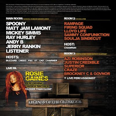 Back to 95 Tickets | Proud 2 London  | Sat 14th July 2012 Lineup