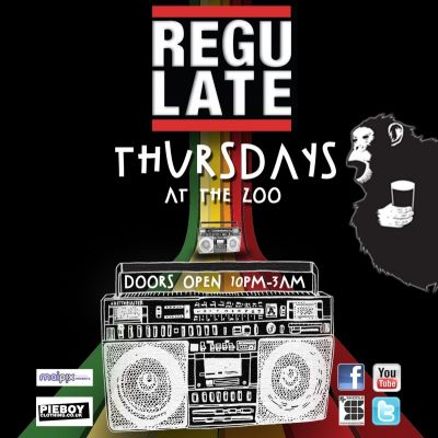 Venue: REGULATE | The Zoo Manchester  | Thu 14th June 2012