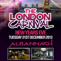 2013 The London Carnival NYE Party
