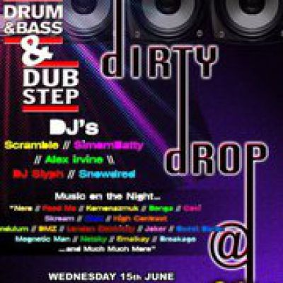 Dirty Drop | Purple Turtle Camden London  | Wed 15th June 2011 Lineup