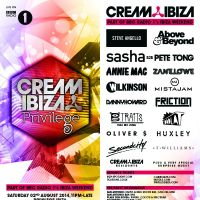 Cream Ibiza Radio 1 Live from Privilege