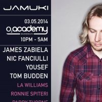 Jamuki with James Zabiela, Nic Fanciulli, Yousef, Tom Budden