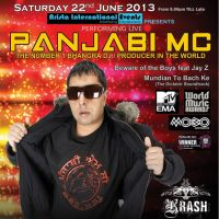 Panjabi Mc @ Arista Bar at Arista Bar