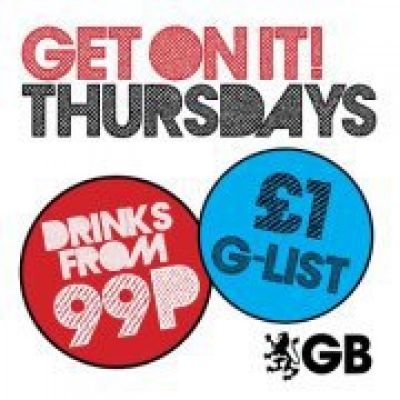 Get On It Thursdays! Tickets | Gatecrasher Birmingham Birmingham   | Thu 27th September 2012 Lineup
