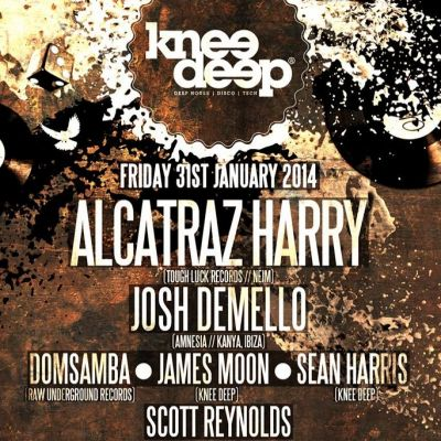 KNEE DEEP W/ ALCATRAZ HARRY (TOUGH LUCK RECORDS/NEIM)  Tickets | Moko Lounge Harrogate  | Fri 31st January 2014 Lineup
