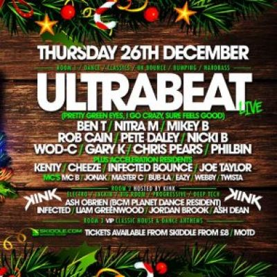 Acceleration Boxing Day Bonanza  at The Kaff (Club Nirvana)