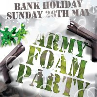 Army Foam Party