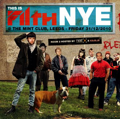 Venue: This is FILTH NYE!! Hugo & Pleasurekraft / 80's punks | The Mint Club Leeds  | Fri 31st December 2010