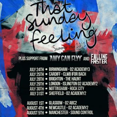 That Sunday Feeling Summer Tour 2012 | Sound Control Manchester  | Sun 5th August 2012 Lineup