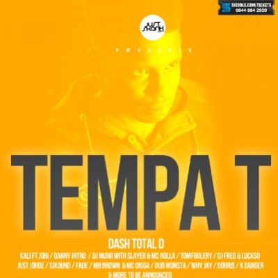 Just Skank Present Tempa T , Compa , Dash Total&#39;D & More Tickets | NQ Live (Formerly Moho Live) Manchester  | Fri 20th July 2012 Lineup