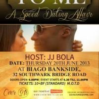Lelas Lounge Presents - Talk To Me  at Biagio Bankside
