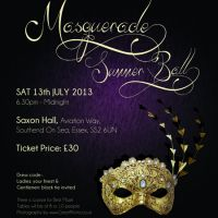 Charity Masquerade Summer Ball at Saxon Hall