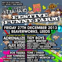 Goodgreef Xtra Hard & Rave On present Festive Funny Farm