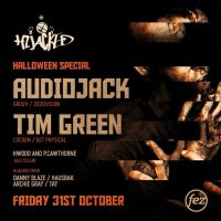 Hijacked Halloween Special presents Audiojack//Tim Green//Hwood and P.Cawthorne B2B//Hijacked Crew