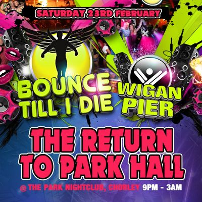 Wigan Pier Bounce Bounce Till i Die / Wigan Pier