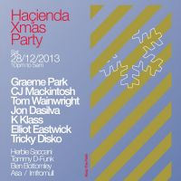 Fac51 The Hacienda Xmas Party with Graeme Park, CJ Mackintosh, K Klass, Jon Dasilva, Tom Wainwright