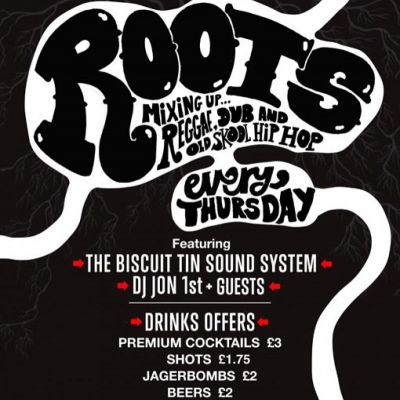 Reviews: ROOTS | The Basement Leicester  | Thu 14th June 2012