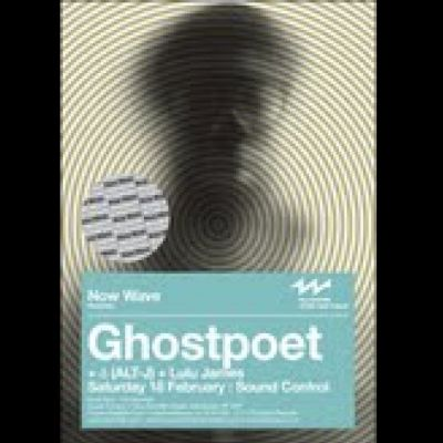 Now Wave Presents: Ghostpoet Tickets | Sound Control Manchester  | Sat 18th February 2012 Lineup